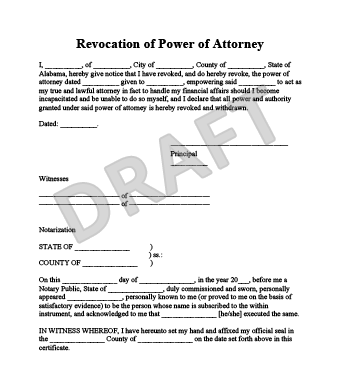 create your revocation of power of attorney form in minutes - Sample Special Power Of Attorney Form