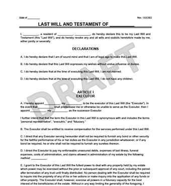 will templates Create a Last Will and Testament | Legal Templates