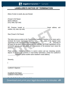 Create a rent increase notice in minutes legal templates lease termination sample thecheapjerseys Gallery