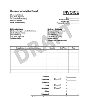 Create an Invoice Form in Minutes | LegalTemplates