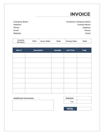 Child Care Invoice Template from legaltemplates.net