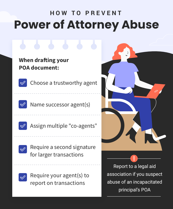 How to prevent power of attorney abuse